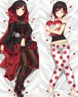 Ruby Rose Dakimakura by tonee89