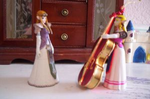 Princess Zelda's Bass Lesson by Super-Smash-Bros-64