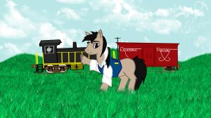 Equestria Railroad by SilverwolvesForever