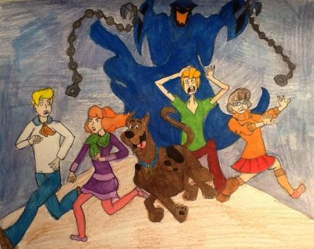 Scooby Doo and the Gang by morpheous12