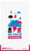 My Tee is bulletproof by Defect303