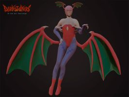 Lilith Darkstalkers Challenge by SFalkon