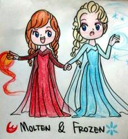 Molten and Frozen by Derochi