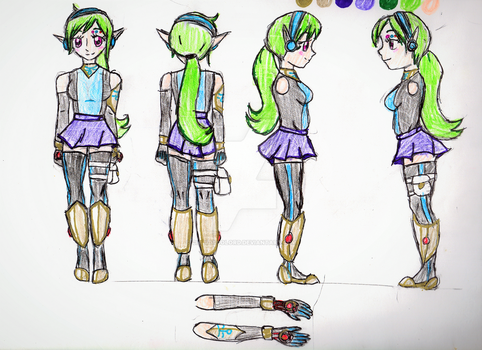 Phoebe's body reference by TheTacoGirl