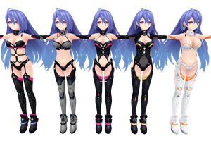 Hyperdimension Neptunia V, Iris Heart by xXNekochanofDoomXx
