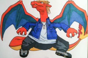 Joey-zard Wheeler by AlPendragon