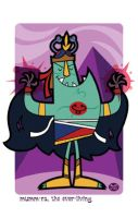 Mummra the ever living by Montygog