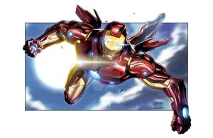 IRON MAN_Colored by totmoartsstudio2