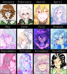 2014 art summary by ghostlycrab