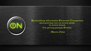 Steve Jobs Quote 3 by RSeer