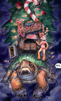 merry christmas by duckbanks