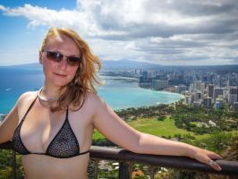 Diamond Head View by KimCums