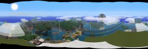 minecraft panorama by MrPuddims