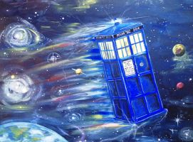 Tardis (for Hailey) by frizz-art