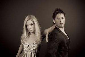 Bonnie and Clyde by LuntPhotography