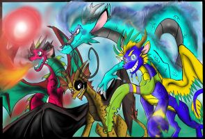 Dragons R Epic by Silver-HeartCrosser