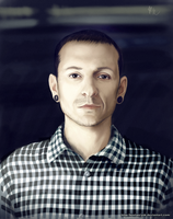 Chester Bennington by KostanRyuk