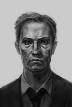 Rustin Cohle by Firsin