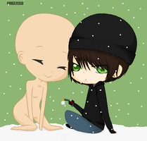 Winter :open collab: by NyuNyuPuppet