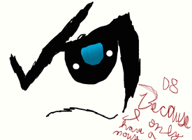 Anime eye practice by YAOI--LUVR