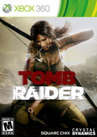 TOMB RAIDER 2011 - 360 Cover by parazombie