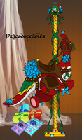 L.E. Carousel Drakey - NightsStarShowers by DRACODOPTABLES