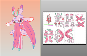 Lurantis Papercraft + Download Link by amigolol