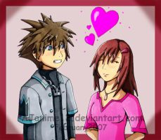 KH2: Valentine's Day Jitters by AJanime12