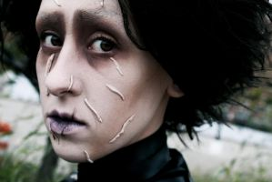 Edward Scissorhands: Incomplete and All Alone by RhymeLawliet