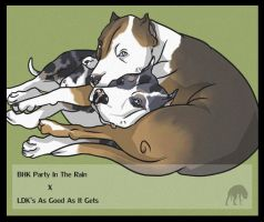 BHK/LDKs Breeding - PUPPIES HERE (see link) by Gutter-Mutt