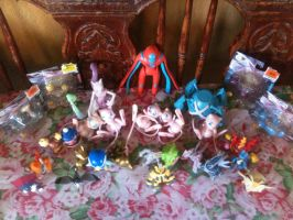 My Pokemon jakks figures................ by davyjonesentei123