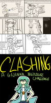Clashing- Prologue + Page1 by SourHex