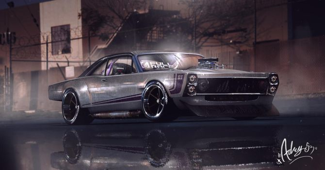 66' Fairlane 500 GT by Adry53