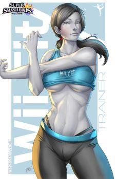 Wii Fit Trainer - Commission by Ryusoko