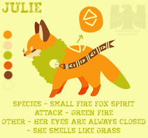 Julie ref by Chigle