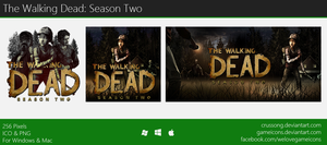 The Walking Dead: Season 2 - Icon by Crussong