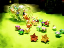 I Collect. Star-Shaped Wishes. by snowstormj7