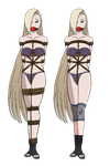 Ino Yamanaka Tied Up and Gagged 4 by songokussjsannin8000