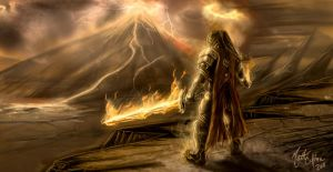 The Fire Lord: Surt by JoeCool42