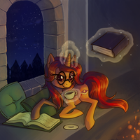 Book Mark by Zaphy1415926