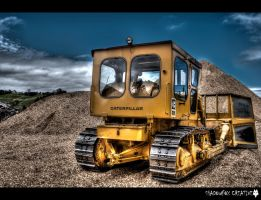 Caterpillar D7 by shadowfoxcreative