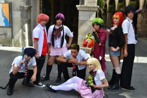 Ao no exorcist group by OwiCosplay