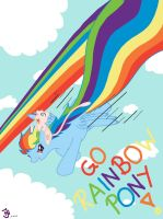 Go, Rainbow Pony! by RainbowJune