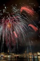 Alster festival - second photo of the firework by Usagi-Atemu-Tom