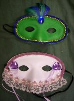 Romeo and Juliet Masks VI by Fruits-Punch-Samurai