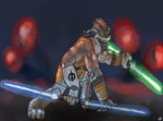 Pong Krell by lordhadrian