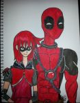 Ask  Deadpool and Redpool by missnene1