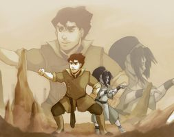 LOK/ATLA: Earthbenders by Do0dlebugdebz