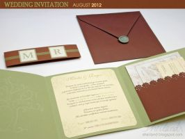 Wedding Invitation for Marta + Roger_03 by Nestery