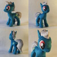 Speed Stardust OC Plush by TheGrillosLab